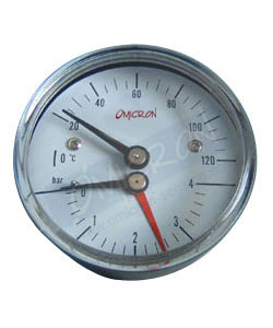 pressure temperature gauge